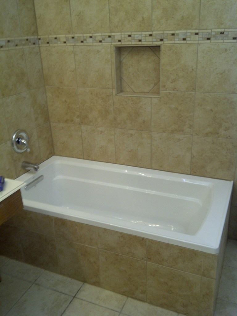 Bathroom Shower Tile Remodel PicturesWright Brothers Floor Company - Bathroom remodeling plano tx
