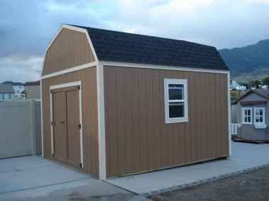 double door farm style shed