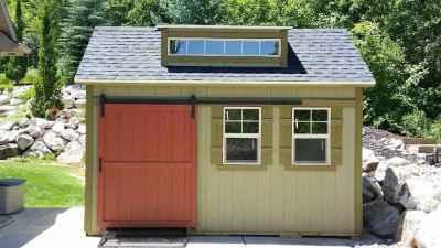 mountain green shed