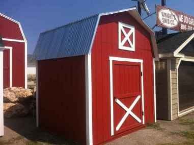 old school farm style shed