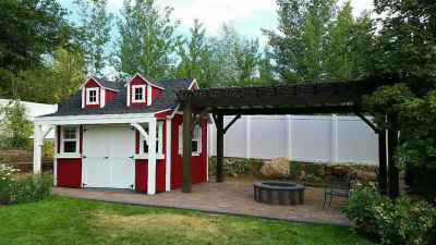 orchard shed dormers and porch side