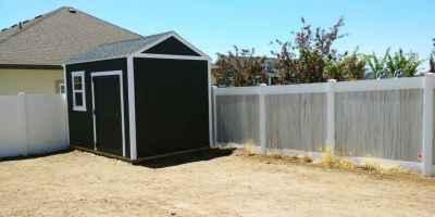 black orchard shed