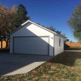 gray Detached Garage