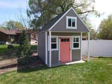 gable end porch shed