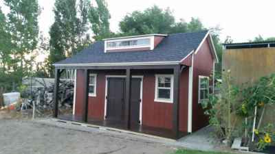 orchard shed red