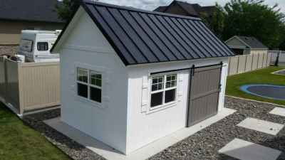 orchard shed white