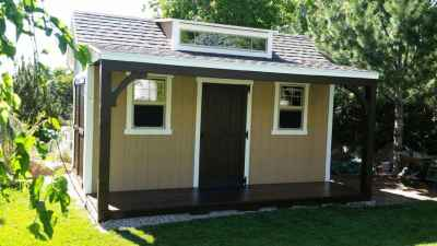 orchard shed porch and deck