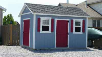 Custom orchard shed