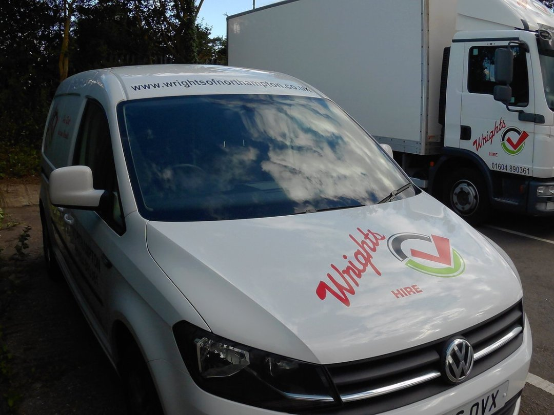 Wrights small van for hire