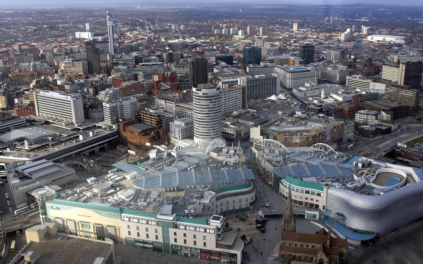 Birmingham city life wallpaper UK