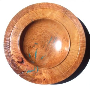 Madrone burl plater