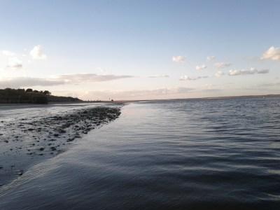 Finally, the sea!