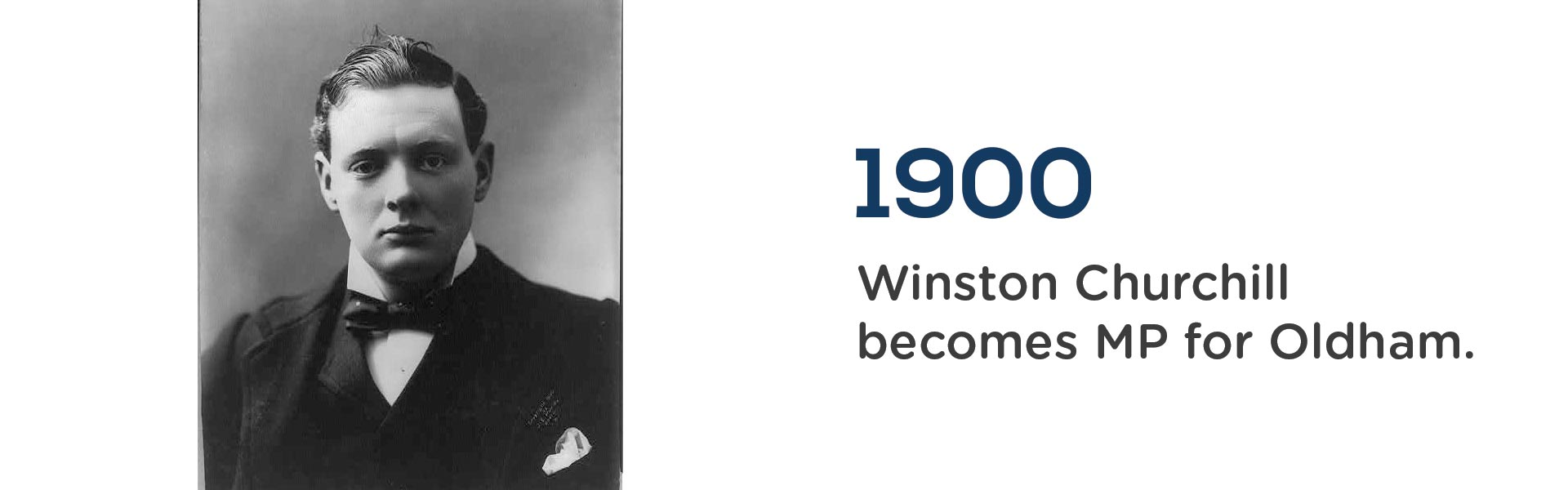 in 1900 Winsto Churchill became MP for Oldham. Wrigley Claydon Solicitors, Trusted for 200 years
