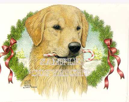 Dog Holiday Christmas Cards By Telia Fleming Hanks