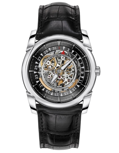 Parmigiani Tonda White Gold Skeleton Graphite Watch