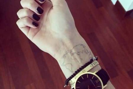cool world map tattoos » Full HD Pictures [4K Ultra] | Full Wallpapers