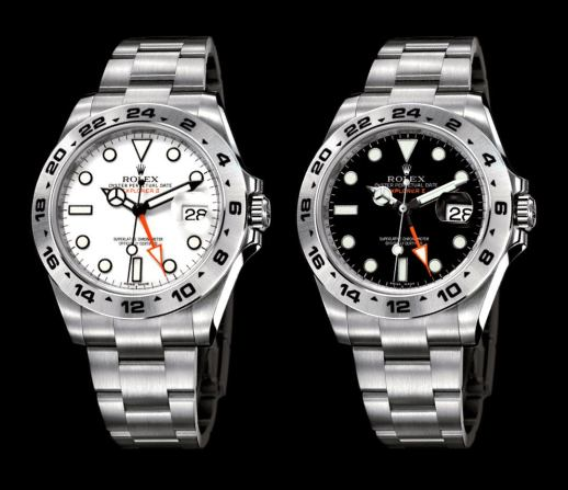 2011-Rolex-Explorer-II-Black-and-White-