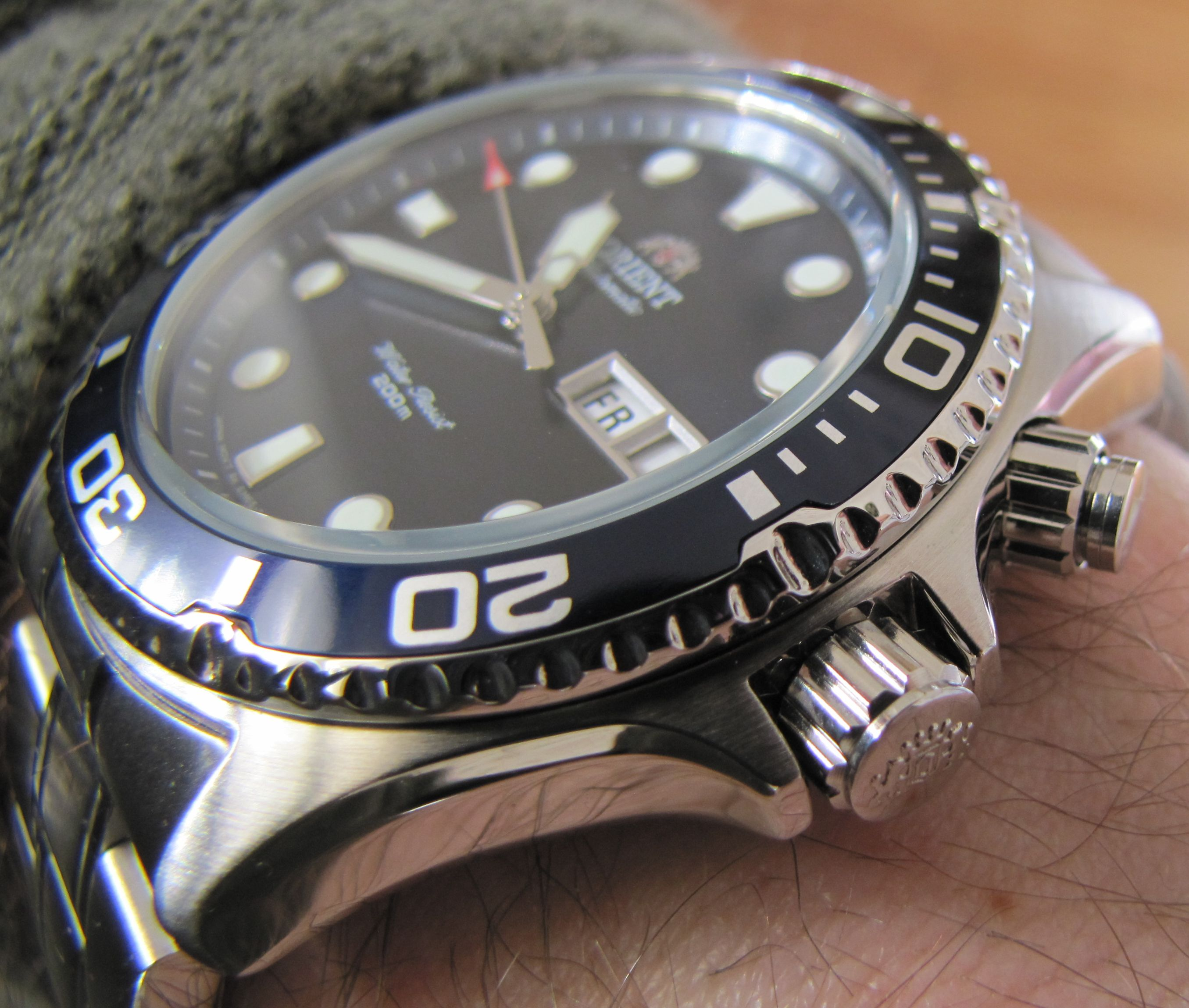 Review Orient Ray Wrist Watch Review