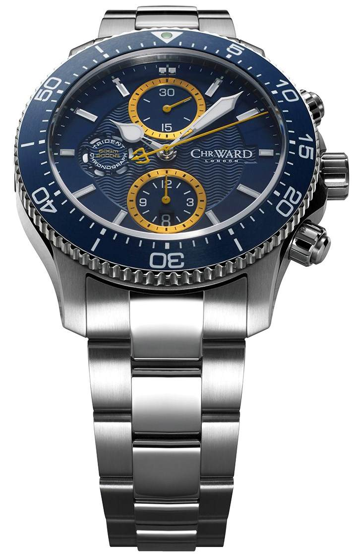 christopher ward c60 trident chronograph pro 600 now available for