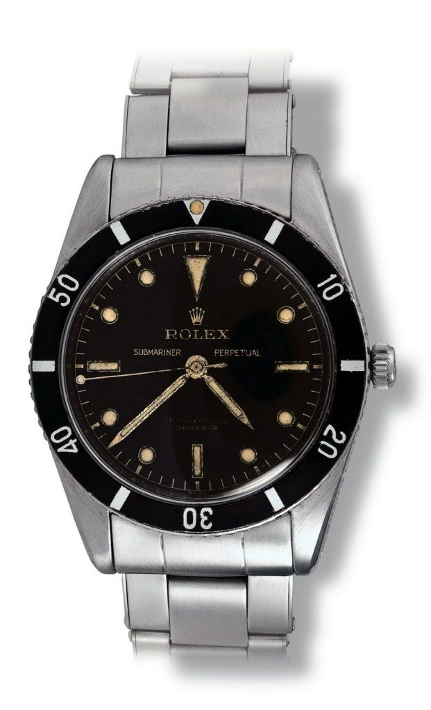 Rolex 6204 Submariner with stick hands... a lot like a Trekker 40!