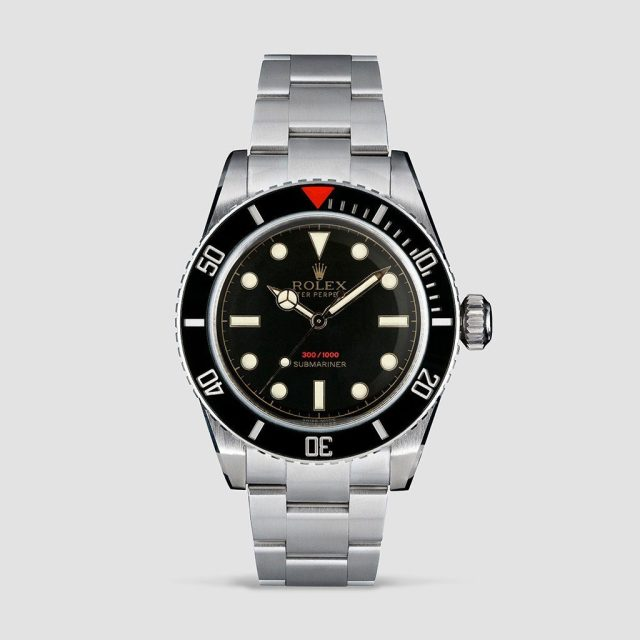 Tempus Machina - an homage built almost entirely from a genuine Rolex