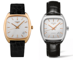 Old and new Longines Heritage 1969