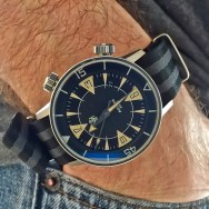 Looking pretty cool on a CincyStrapWorks seatbelt nato