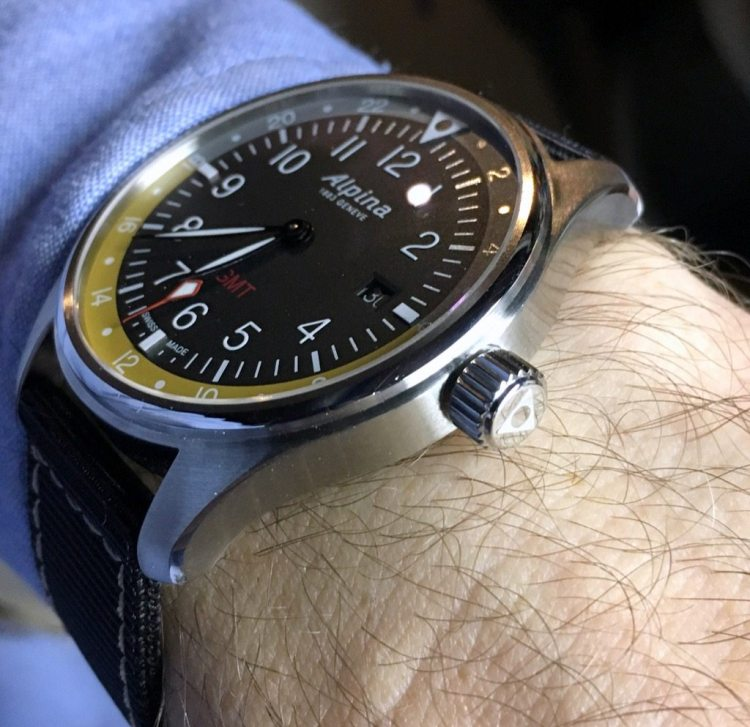 Beware The Ochre Ogre A Review Of The Alpina Startimer Pilot Quartz - Alpina watches price