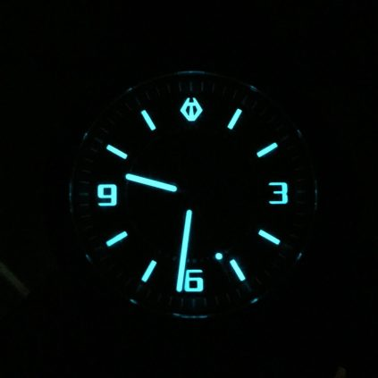 look at that lume! Glow, little glow worm, glimmer!