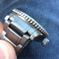 that molded solid end link