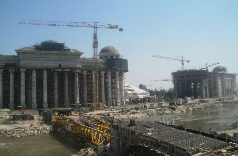 Skopje – macedońska stolica w budowie