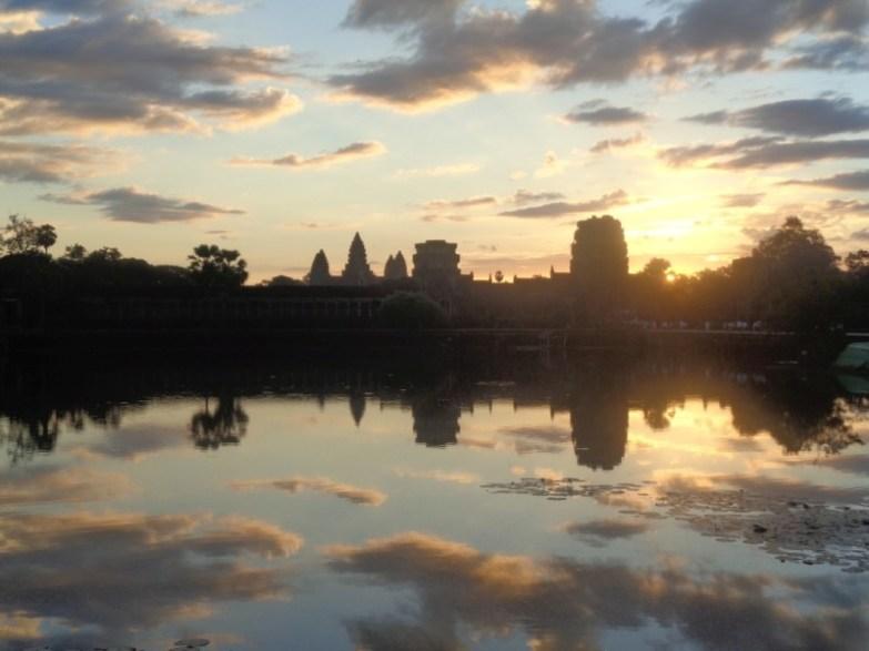 Angkor wschód słońca