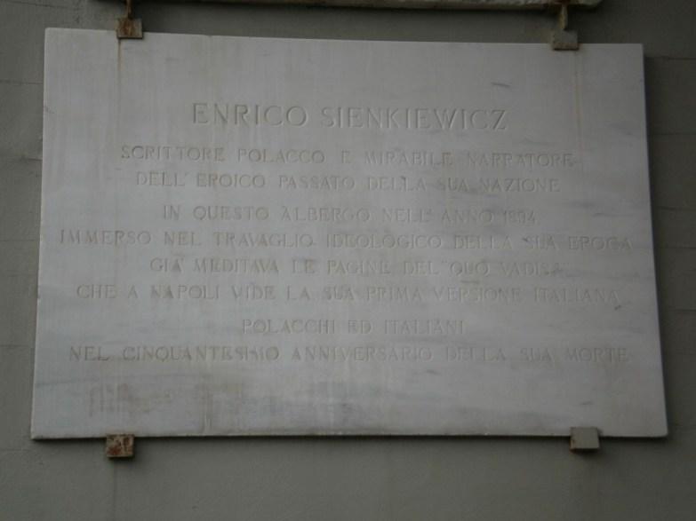 Henryk Sienkiewicz w Neapolu
