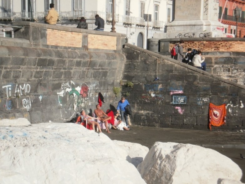 zima w neapolu