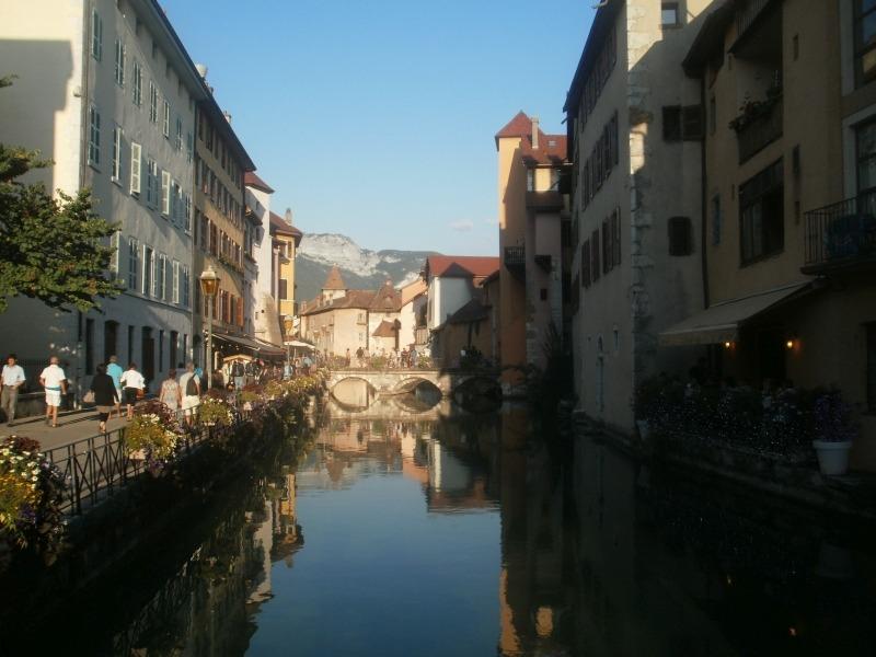 Annecy - Alpejska Wenecja we Francji