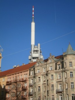 Dzielnica Zizkov w Pradze