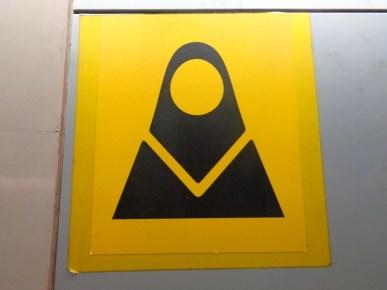 Strefa kobieca w teherańskim metrze