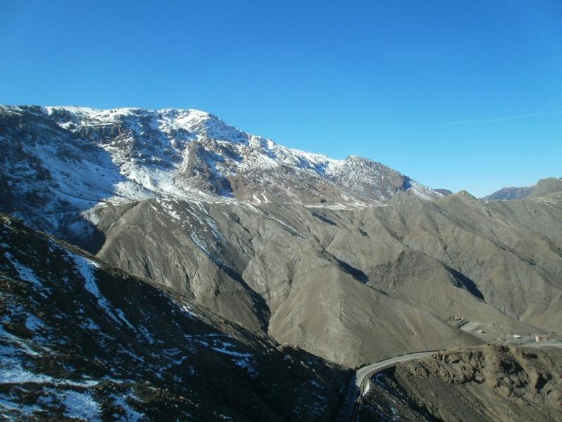 Maroko - przeprawa przez góry Atlas