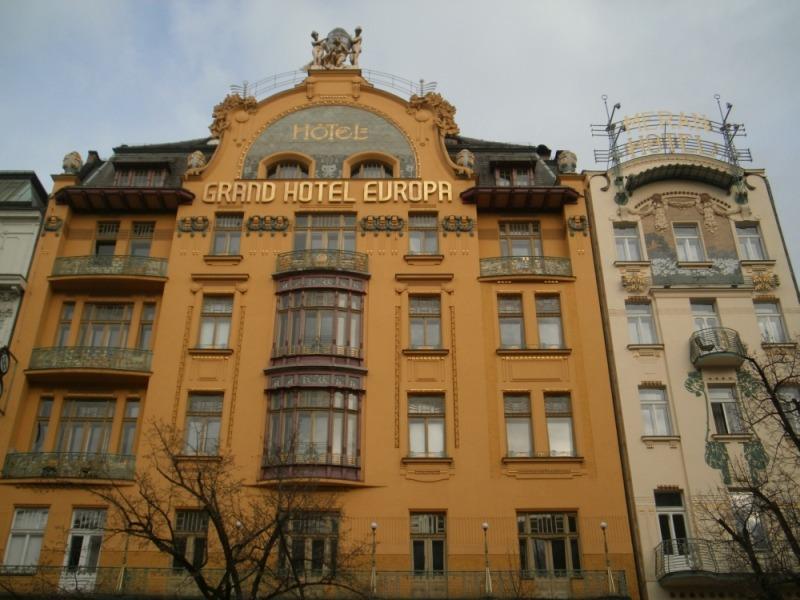 Secesyjna Praga. Przejawy art nouveau w stolicy Czech