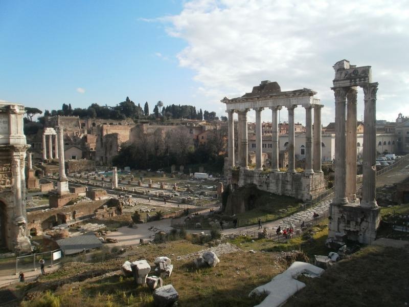 Rzym antyczny. Najważniejsze zabytki Wiecznego Miasta