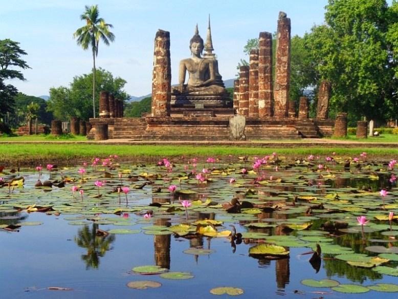 Park historyczny w Sukhothai