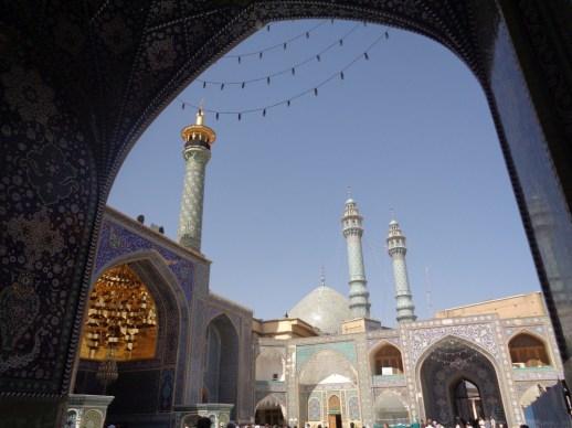 Meczet w Kom