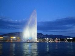 Genewa i jej fontanna