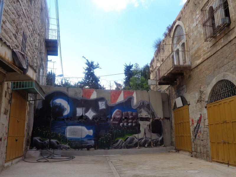 Hebron - miasto murem podzielone