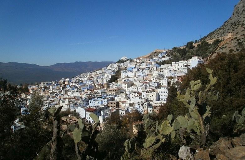 Chefchaouen – niebieski klejnot Maroka
