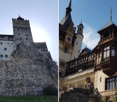 zamek bran i Peleş
