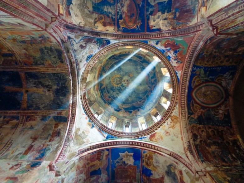 klasztor gelati freski