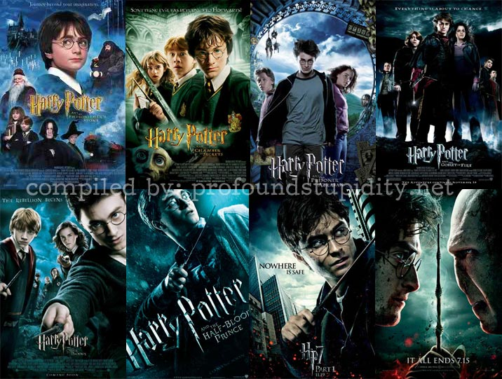 harry potter movies adaption from the sensational potter saga