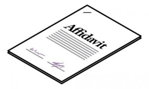 How to Write an Affidavit?