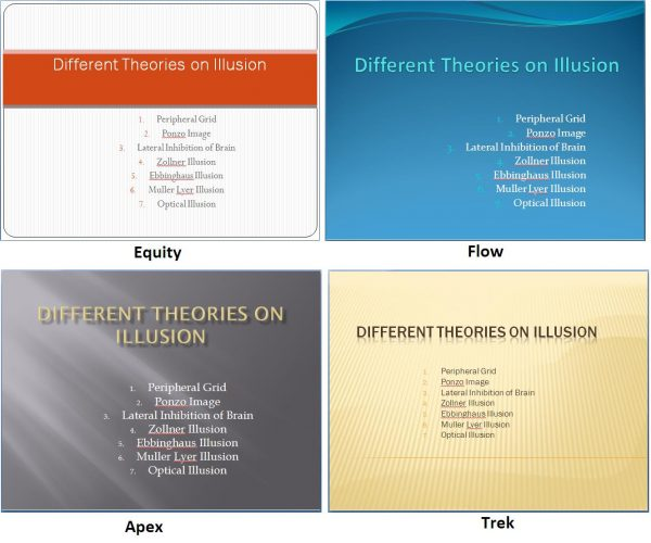 applying powerpoint themes in your presentations